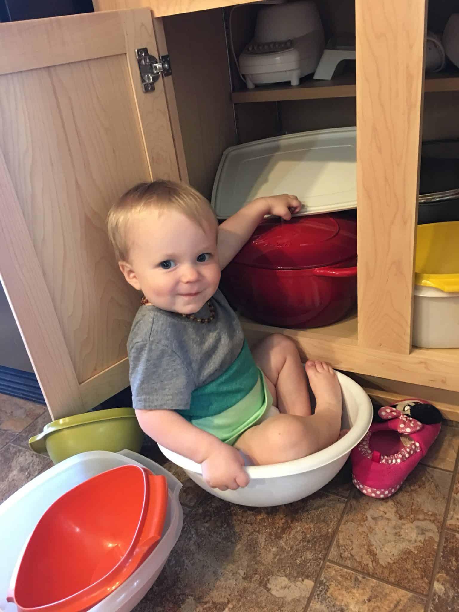boy in bowl