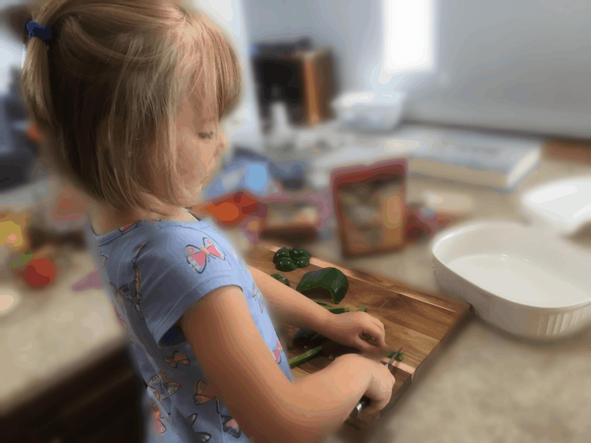 preschooler knife skills