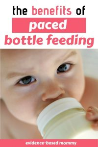 how to pace feed your baby