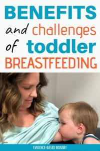 breastfeeding toddler boy