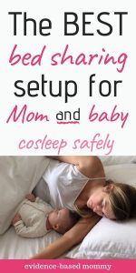 how to co sleep with baby safely