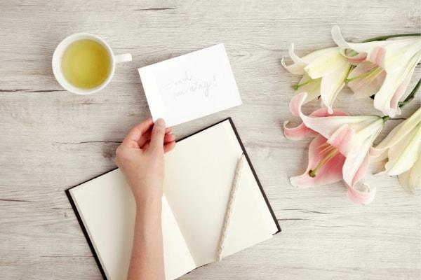 journal flowers