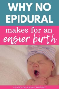 baby born with no epidural
