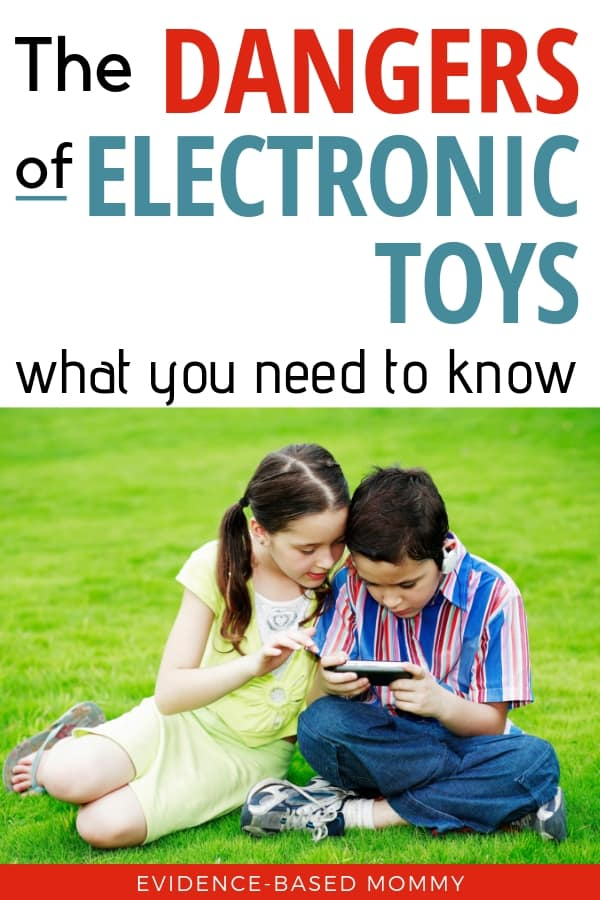 Dangers of electronic toys