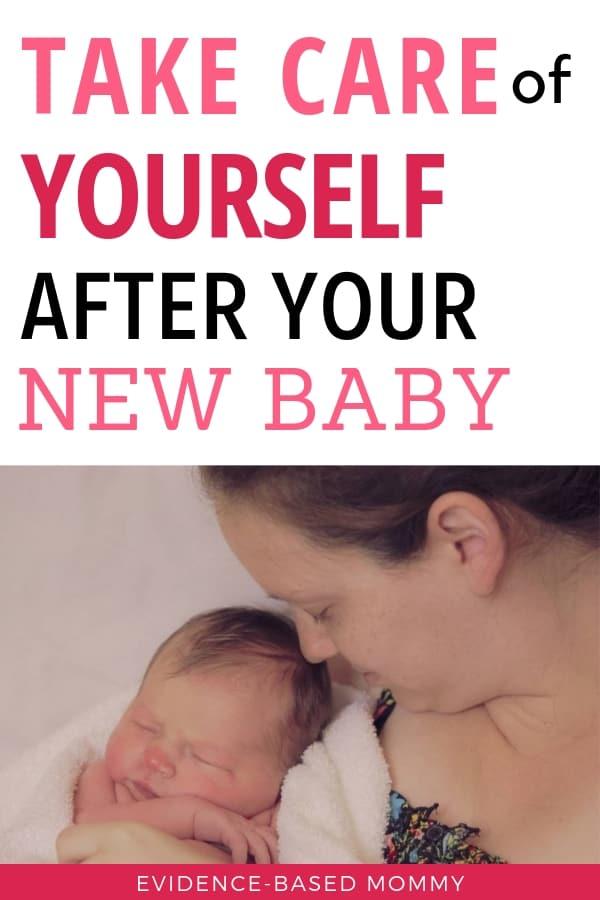Take care of yourself postpartum