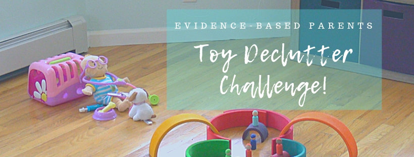Toy declutter CHALLENGE FB group