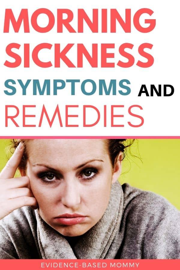 morning sickness symptoms
