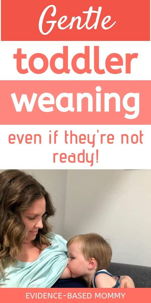 wean breastfeeding toddler