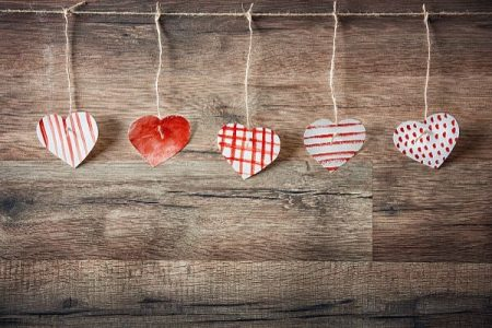 hand-made-paper-hearts